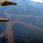 Not much of a shot, to be sure, but flying over Amazonia was impressive.