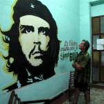 'So tell me, Che, was this Cuba you had in mind when you fought with Fidel?' (Author musing outside communist party offices in Pinar del Rio.)