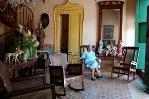 A gracious interior in Remedios.