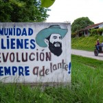 Calienes town proclaims proudly that the revolution is always going forward. But at what pace?