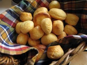 Pan de yuca, a taste of Latin America.